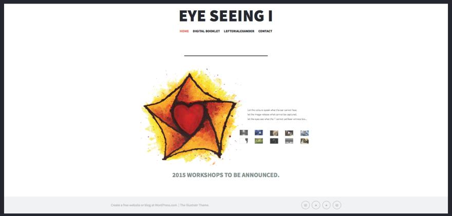 eye seeing i